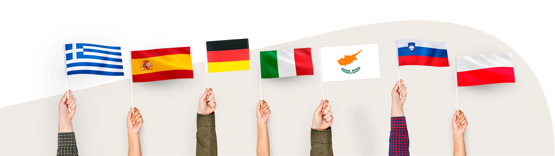partners flags